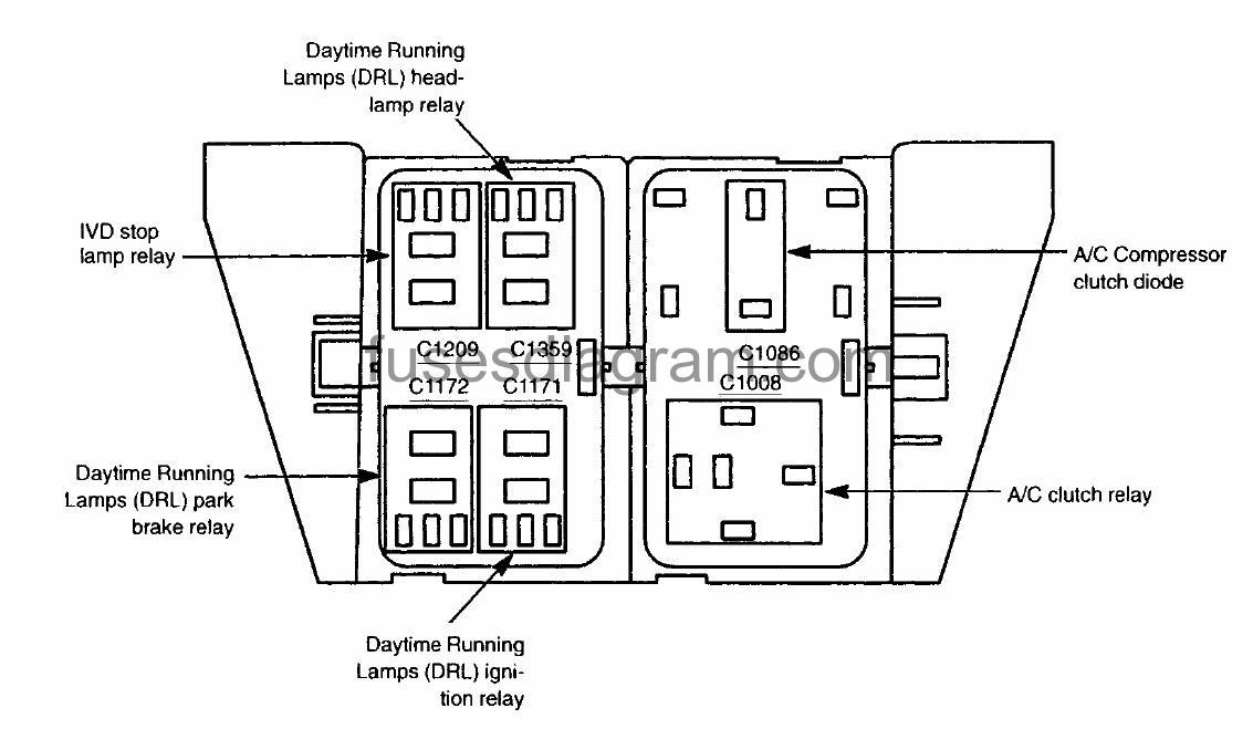 2005 Ford Expedition A C Relay Location Wiring Diagrams