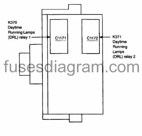 Fuses And Relay Box Diagram Ford F150 1997