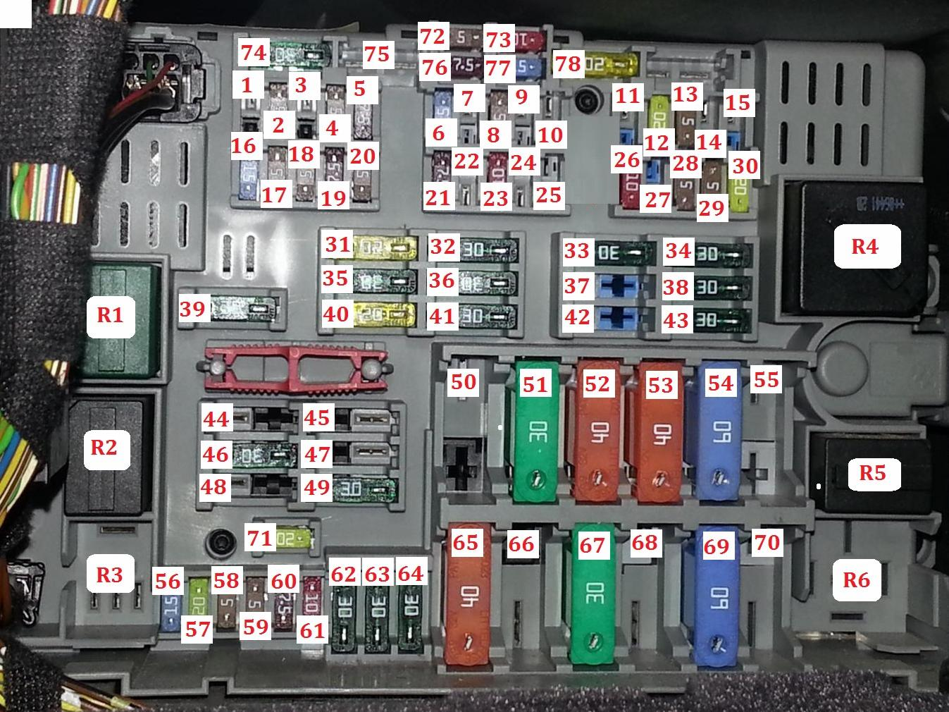 Peugeot 206 Fuse Box And Relays Real Wiring Diagram Xs Relay Bmw E90 Ignition Switch Ecu Type