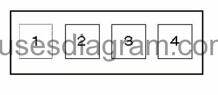 fuse and relay box diagram bmw 3 e46 rh fusesdiagram com BMW 525I Fuse Box Diagrams bmw e46 318i fuse box layout