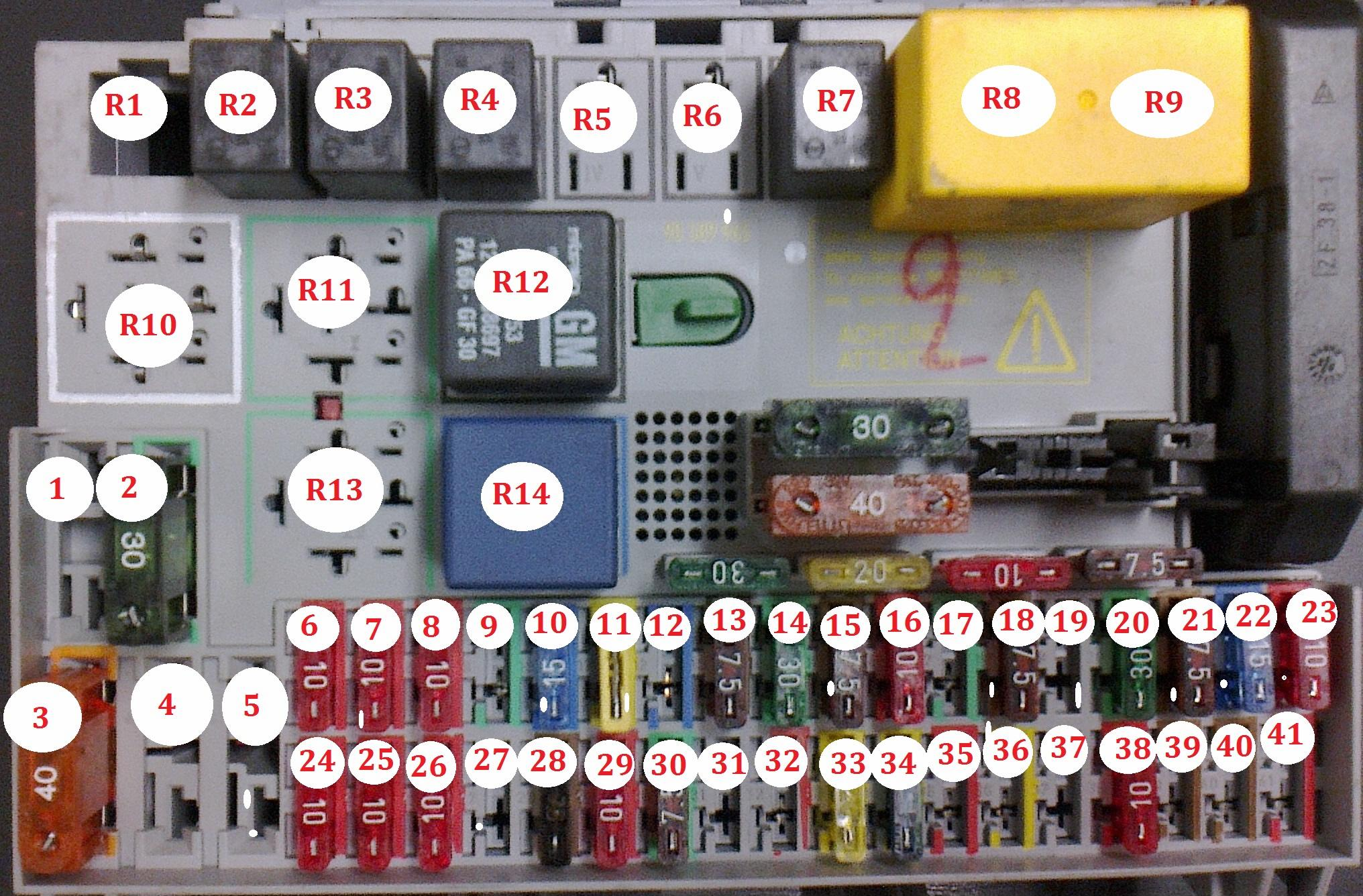 2011 Mazda 3 Fuse Box Location Wiring Library Layout Opel Astrag Blok Salon 2 And Relay Diagram