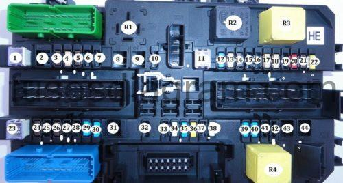 fuses and relays box diagram opel/vauxhall astra h vauxhall astra sri fuse box vauxhall astra 03 fuse box diagram