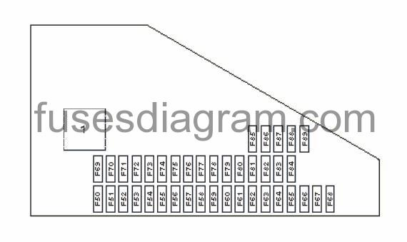 [SCHEMATICS_48DE]  Fuse and relay box diagram BMW E60 | 2008 Bmw 525i Fuse Box Diagram |  | Fuses box diagram