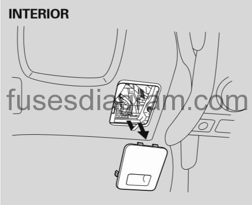 2003 honda accord starter cut relay location