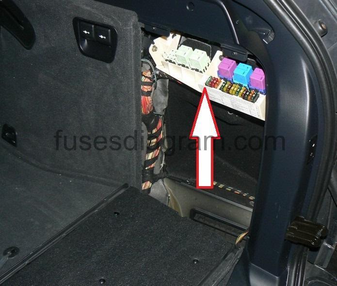 2005 Bmw X5 Rear Fuse Box Diagram