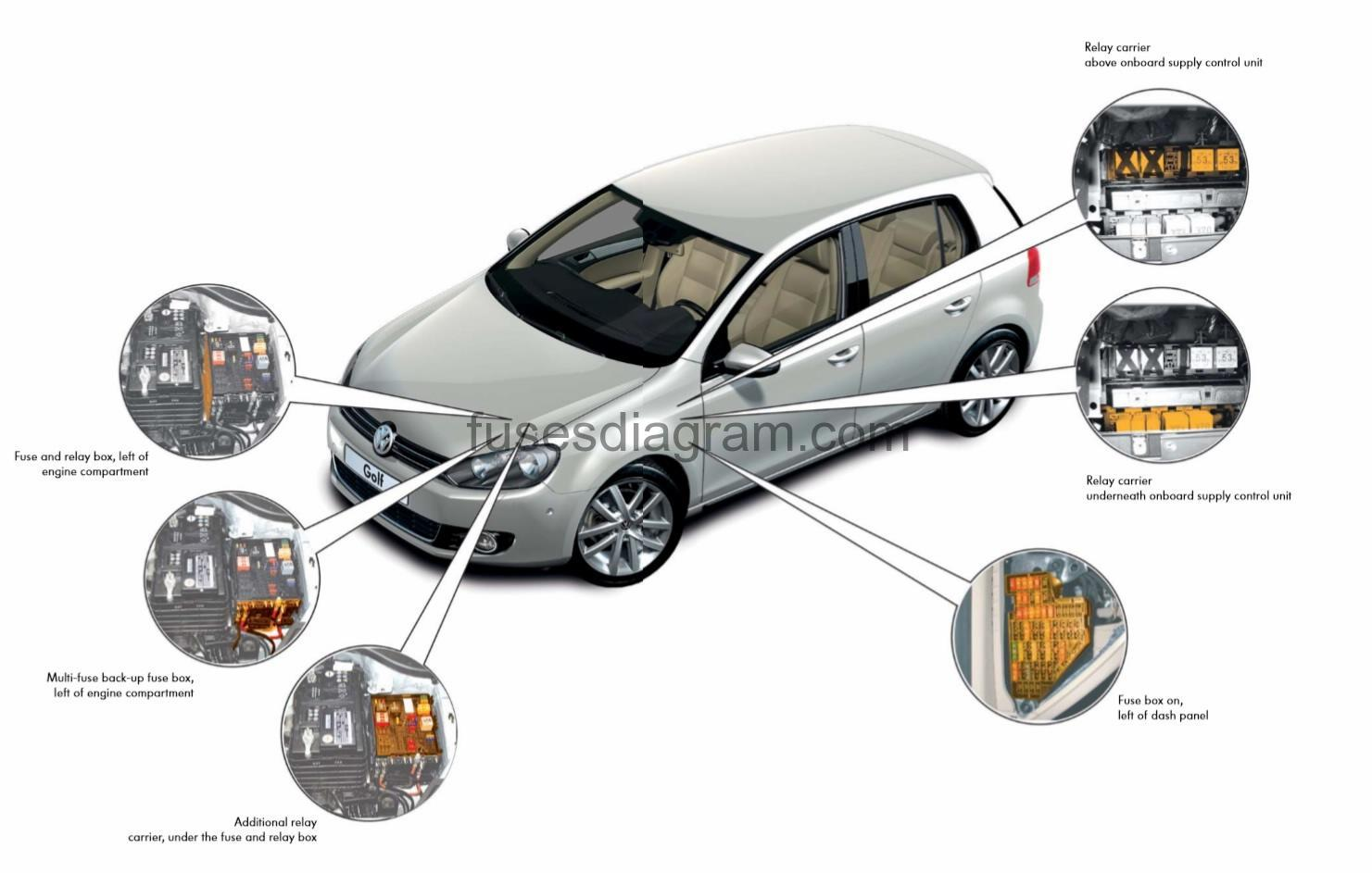 2013 Vw Eos Fuse Diagram Product Wiring Diagrams 1998 Passat Wagon Box Volkswagen Golf 6 1999 Beetle 2012