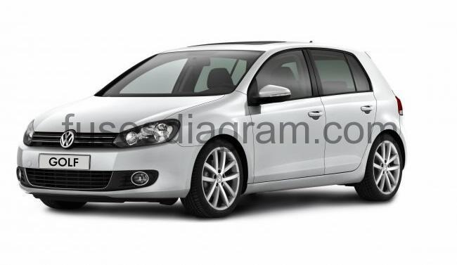 fuses and relay volkswagen golf 6