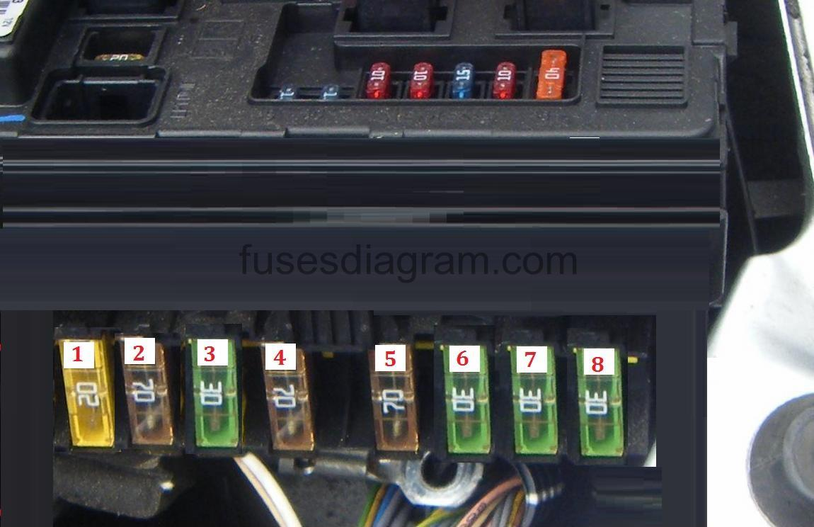 Fuse Box In Peugeot 206 Wiring Schematic 2019 Cc Diagram