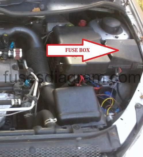 2001 Ford Fuse Box Diagram