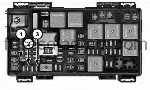 fuse box dodge ram 2009 2016. Black Bedroom Furniture Sets. Home Design Ideas