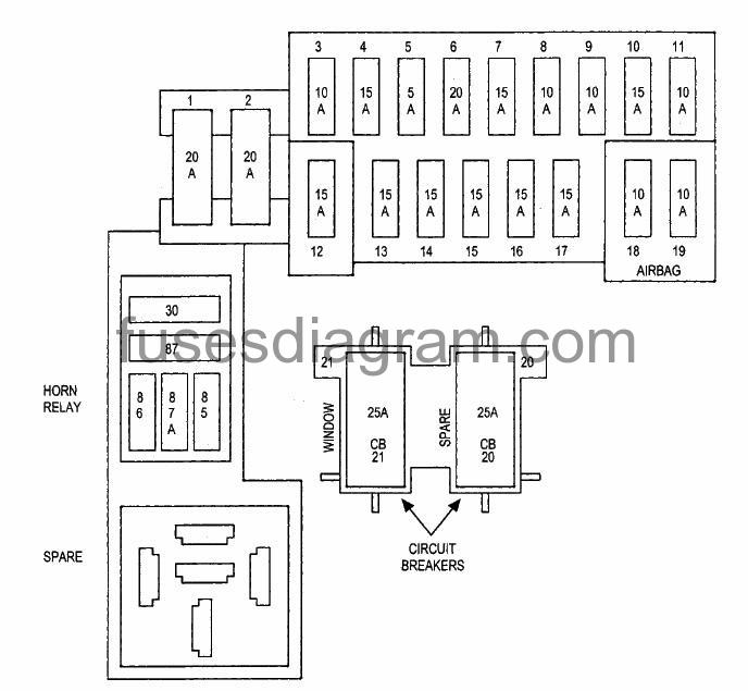 2003 Dodge Durango Fuse Box Diagram 4 7 | Wiring Diagram on