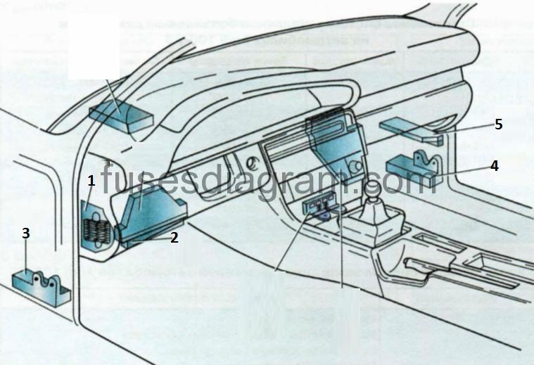 Audi A Blok Salon on 2009 Audi A4 Fuse Diagram