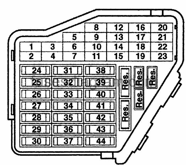 audi b5 fuse box layout house wiring diagram symbols u2022 rh maxturner co  2009 audi a4 convertible fuse box location