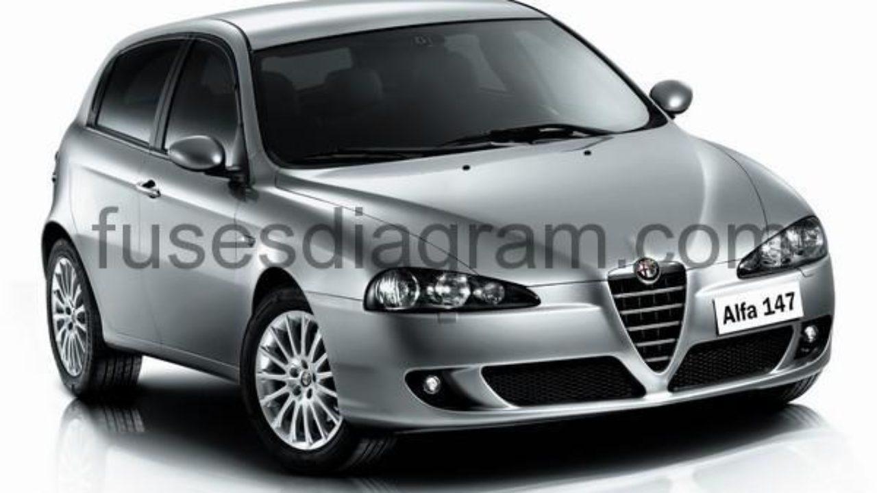 Fuse box Alfa Romeo 147 Alfa Romeo Jtd Wiring Diagram on