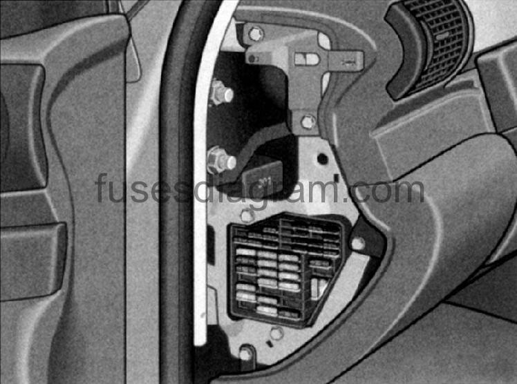 Audi a fuse box diagram trunk wiring diagrams