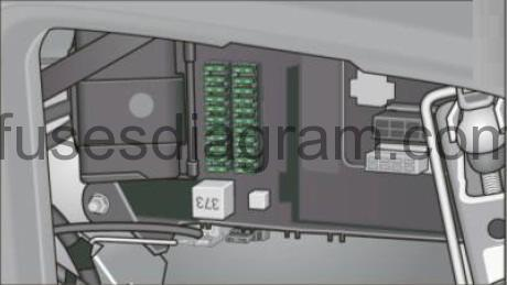 Fuse box Audi A6 (C6) | Audi A6 Fuse Box In Boot |  | Fuses box diagram