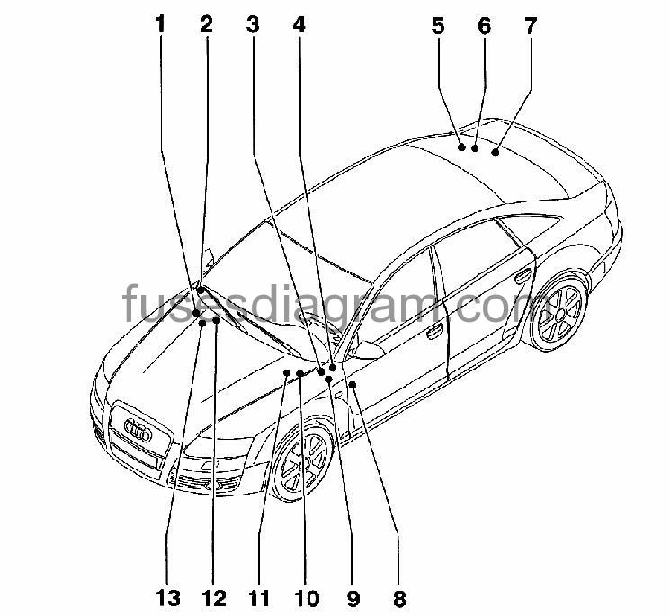 audi a4 relay diagram 372  audi  wiring diagrams instructions