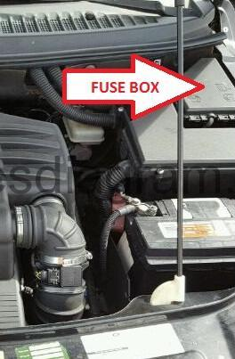 [TVPR_3874]  Fuse box Land Rover Freelander | 2004 Land Rover Freelander Engine Diagram |  | Fuses box diagram