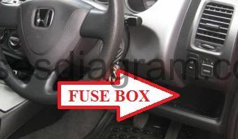 fuse box honda jazz fit 1998 honda fuse box