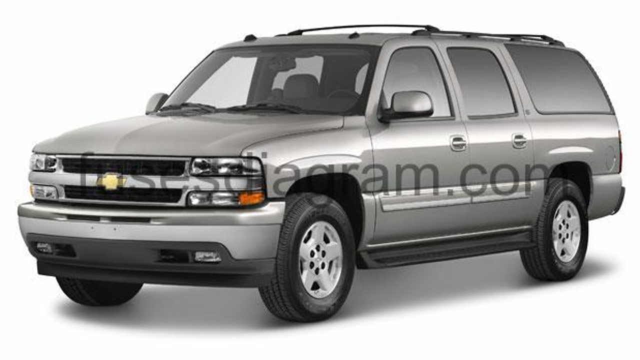 Fuse box Chevrolet Suburban 2000-2006  Tahoe Drl Wiring Diagram on