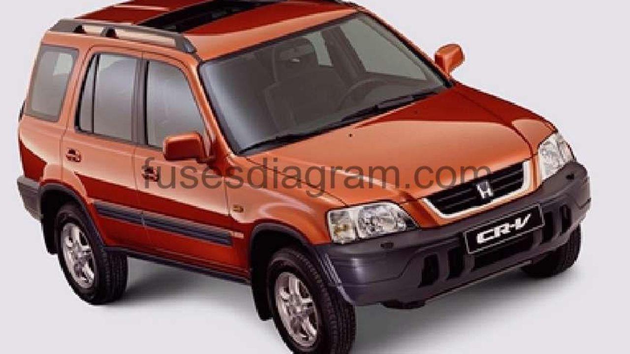 1997 Honda Accord Ex Underhood Fuse Box Diagram