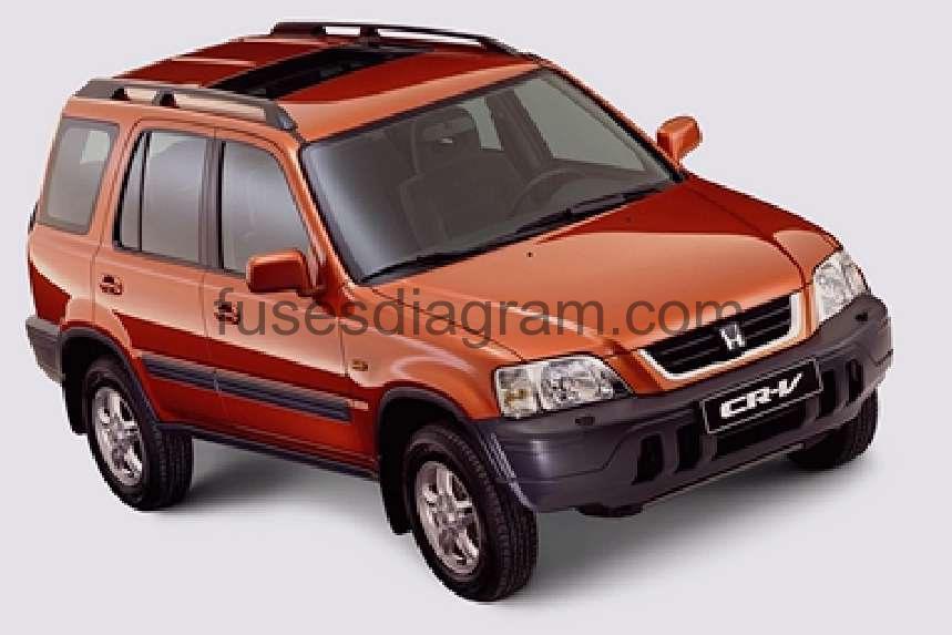 Fuse box diagram Honda CR-V 2002-2006