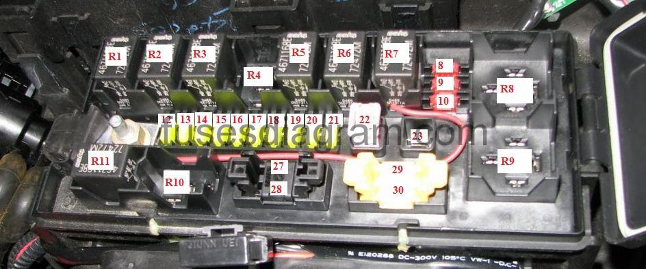 Fuse box Jeep Grand Cherokee 2005-2011 cherokee laredo 2008 jeep grand cherokee interior fuse box diagram Fuses box diagram