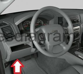 Fuse box Jeep Grand Cherokee 2005-2011 | 2005 Jeep Fuse Box |  | Fuses box diagram