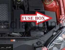 fuse box mazda 3 2003 2009 2008 mazda 3 sedan fuse box layout