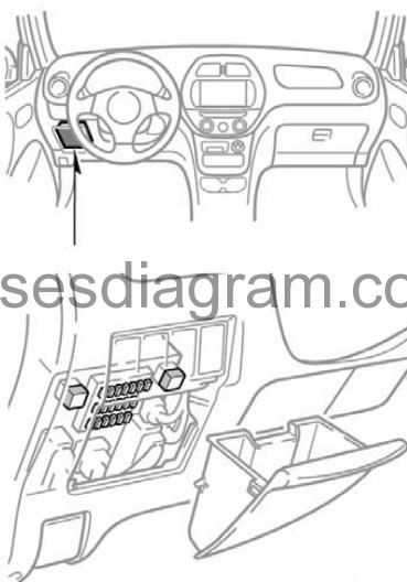 toyotum rav4 fuse box diagram