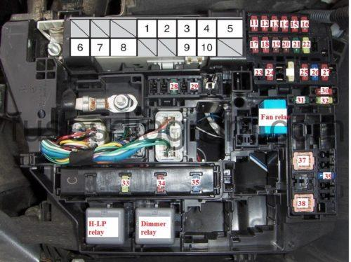 En Corolla R Blok Kapot X on Toyota Avalon Fuse Box Diagram
