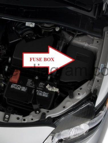 En Corolla R Blok Kapot X on toyota corolla fuse box diagram