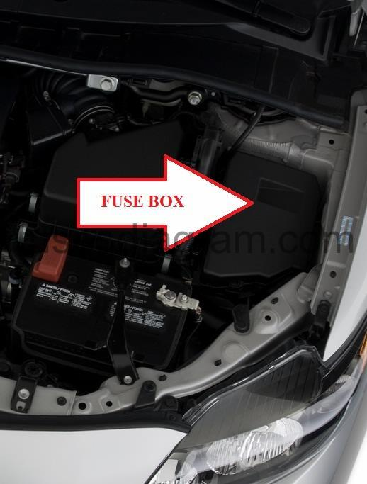 [SCHEMATICS_4UK]  Fuse box Toyota Corolla 2007-2013 | 2007 Toyota Corolla Fuse Panel Diagram |  | Fuses box diagram