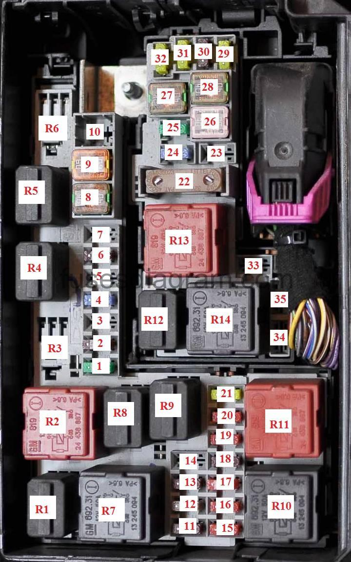 En Merivab Blok Kapot on 5a Fuse Diagram