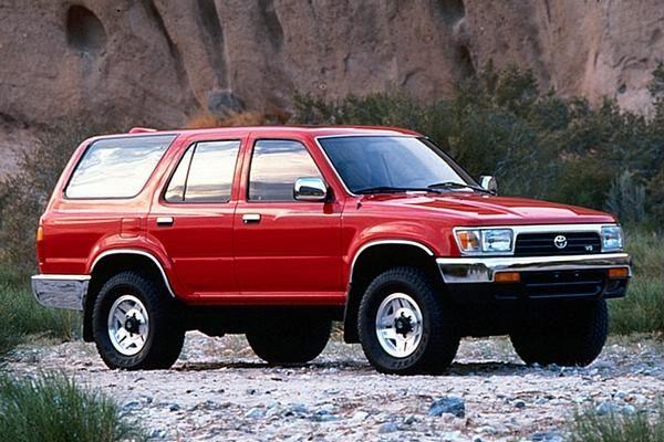 Fuse box Toyota 4Runner 1989-1995