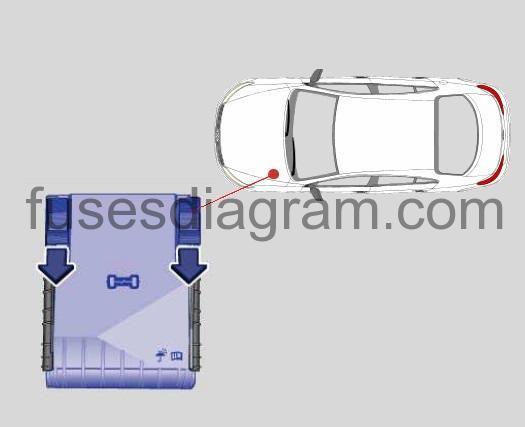 Fuse box Volkswagen CC