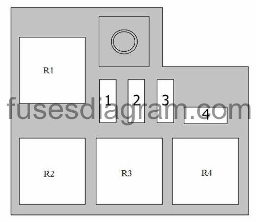 Fuses And Relay Hyundai I20 2008