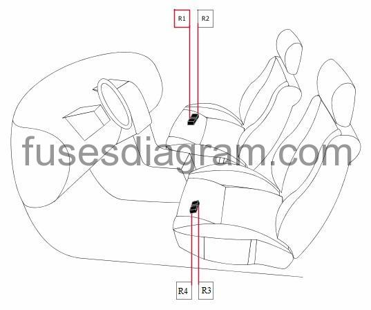 Additional Relay In Passenger Partment: 2003 Honda Cr V Fuse Box Diagram At Obligao.co