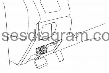 fuse box diagram mitsubishi lancer evolution Mitsubishi Lancer Blue fuse box diagram