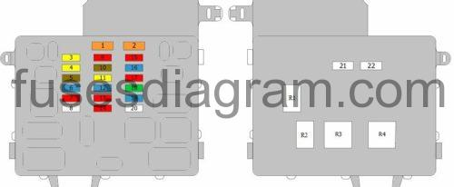 Fuse Box Diagram Lexus Is 200  Is 300