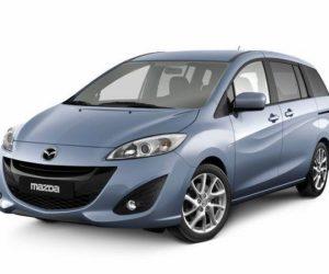 Fuse box diagram Mazda MPV