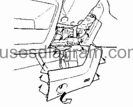 1998 Mercury Mystique Transmission Diagram Further Cable N003 China