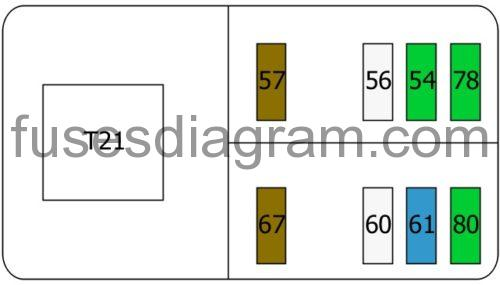 Fuse Box Diagram Alfa Romeo Brera