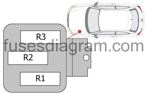 Fuse Box Diagram Audi A1