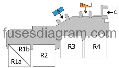 Fuses And Relay Audi A4 B7