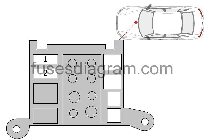 Fuse Box Diagram Audi A6  C7
