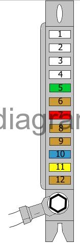 Fuse box diagram Audi A8 (D3) | Audi A8 Fuse Diagram |  | Fuses box diagram