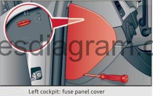 Fuse box diagram Audi Q5 | Audi Q5 Fuse Box Cigarette Lighter |  | Fuses box diagram