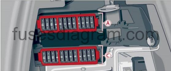 Fuse Box Diagram Audi Q7