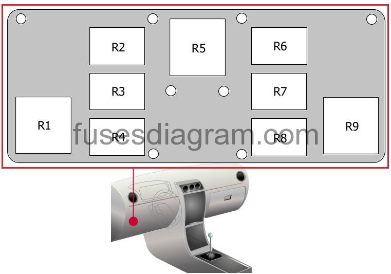 Fuse Box Diagram Audi Tt Mk2
